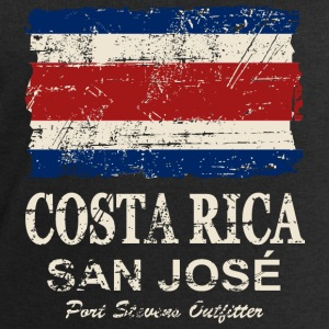 Costa Rca Flag - Vintage Look Topper - Sweatshirts for menn fra Stanley & Stella