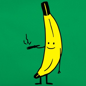 Weed Smoking Banana Tee shirts - Sac Retro
