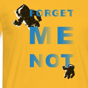 Forget me not – two - Männer T-Shirt