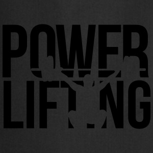 powerlifting T-shirts - Keukenschort