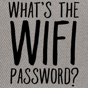 What's The WIFI Password T-Shirts - Snapback Cap