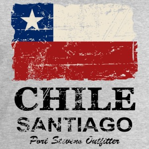 Chile Flag - Vintage Look Tee shirts - Sweat-shirt Homme Stanley & Stella