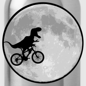 Dinosaur bike and MOON - Water Bottle