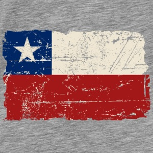 Chile Flag - Vintage Look Sweat-shirts - T-shirt Premium Homme