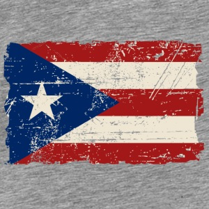 Puerto Rico Flag - Vintage Look Hoodies & Sweatshirts - Men's Premium T-Shirt