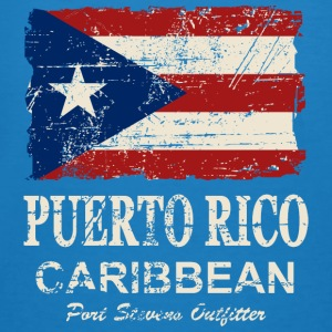 Puerto Rico Flag - Vintage Look Hoodies & Sweatshirts - Men's Organic T-shirt