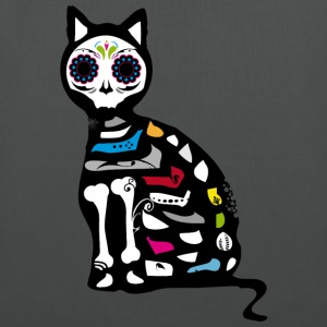 Sugar Skull Cat T-Shirts - Tote Bag