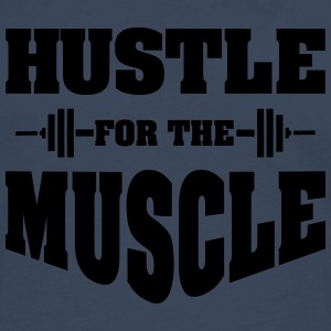 Hustle For The Muscle T-Shirts - Männer Premium Langarmshirt