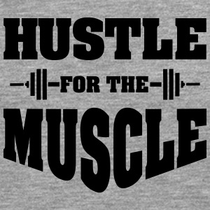 Hustle For The Muscle Tanktops - Mannen Premium shirt met lange mouwen
