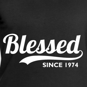 Blessed since 1974 - Birthday Thanksgiving T-Shirts - Men's Sweatshirt by Stanley & Stella