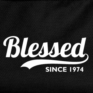 Blessed since 1974 - Birthday Thanksgiving T-Shirts - Kids' Backpack
