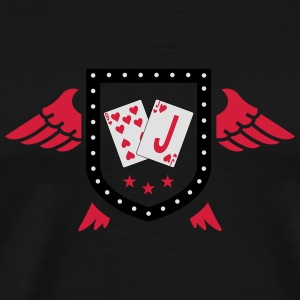 Jeu de cartes / Belote / Tarot / Rami / Poker Mugs & Drinkware - Men's Premium T-Shirt
