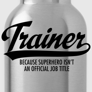 Trainer - Superhero Tanktops - Drinkfles