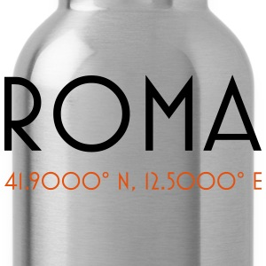 roma coordinates rome T-Shirts - Trinkflasche