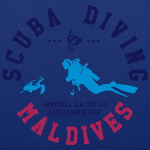 MALDIVES SCUBA DIVING T-Shirts - Stoffbeutel