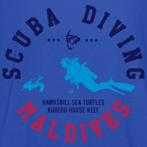 MALDIVES SCUBA DIVING T-Shirts - Frauen Tank Top von Bella