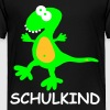 T-Rex Dino Shirt Einschulung Schulanfang Party Fun - Kinder Premium T-Shirt
