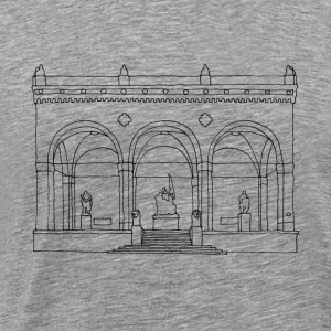 Munich Feldherrnhalle Long sleeve shirts - Men's Premium T-Shirt