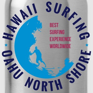 HAWAII SURFING T-Shirts - Water Bottle