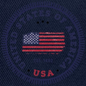 UNITED STATES OF AMERICA T-Shirts - Snapback Cap