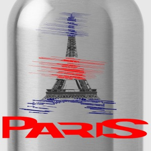 paris-eiffel-france Tee shirts - Gourde