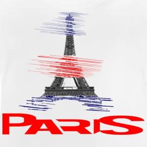 paris-eiffel-france T-shirts - Baby T-shirt