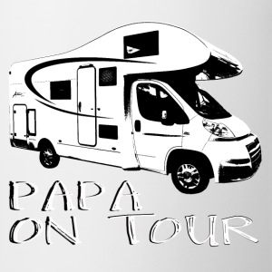 Papa on tour T-Shirts - Mug