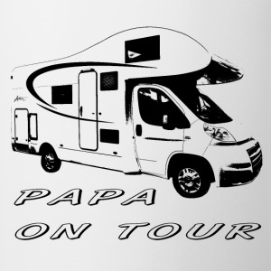 Papa on tour T-shirts - Kop/krus