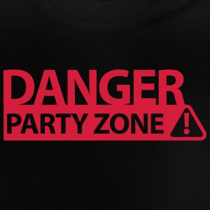 DANGER PARTY ZONE Shirts - Baby T-Shirt