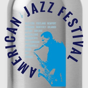 AMERICAN JAZZ FESTIVAL T-Shirts - Trinkflasche