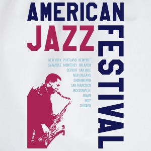AMERICAN JAZZ FESTIVAL 2 T-Shirts - Drawstring Bag