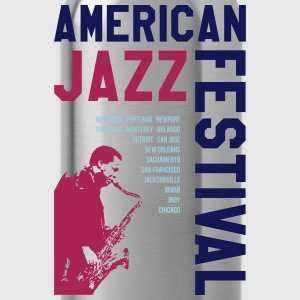 AMERICAN JAZZ FESTIVAL 2 T-Shirts - Trinkflasche