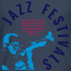 JAZZ FESTIVALS T-Shirts - Men's Premium Longsleeve Shirt