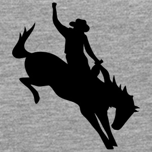 Rodeo Riding on a wild horse T-Shirts - Men's Premium Longsleeve Shirt