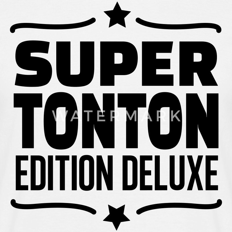super tonton édition deluxe Tee shirts - T-shirt Homme
