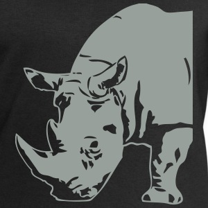 Black  Rhino T-Shirts - Men's Sweatshirt by Stanley & Stella