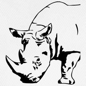 Black  Rhino T-Shirts - Baseball Cap