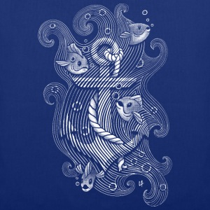 Royalblau Lost anchor T-Shirts - Stoffbeutel