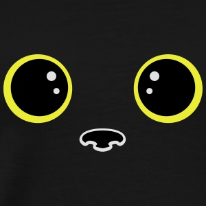Yeux chat kawaii Sweat-shirts - T-shirt Premium Homme