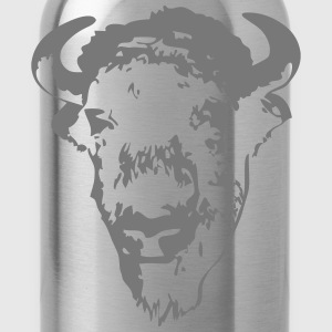 Buffalo - Bull  Aprons - Water Bottle