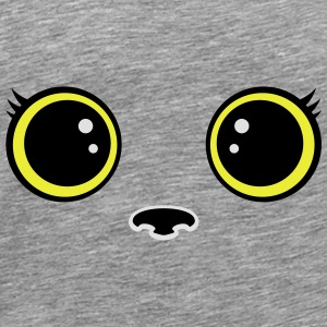 chaton smiley Sweat-shirts - T-shirt Premium Homme