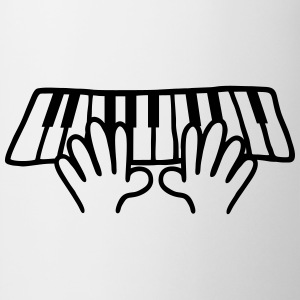 Keyboard - play the piano Shirts - Mug