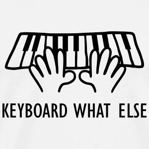 Keyboard What Else Tank Tops - Men's Premium T-Shirt