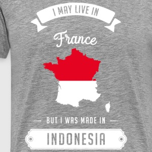 Indonesian in France Manches longues - T-shirt Premium Homme