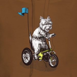 West Highland Terrier Tricycle T-Shirts - Frauen Premium Hoodie