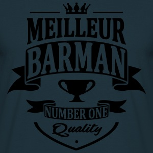 Meilleur Barman Sweat-shirts - T-shirt Homme