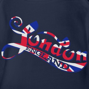 London England T-Shirts - Baby Bio-Kurzarm-Body