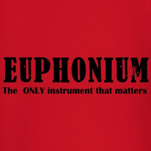 Euphonium The ONLY instrument that matters! - Langarmet baby-T-skjorte