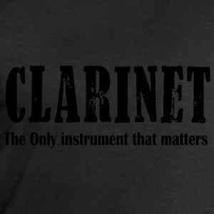 Clarinet, The ONLY instrument that matters T-Shirts - Men's Sweatshirt by Stanley & Stella