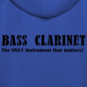 Bass Clarinet, The ONLY instrument that matters! Shirts - Kids' Premium Hoodie